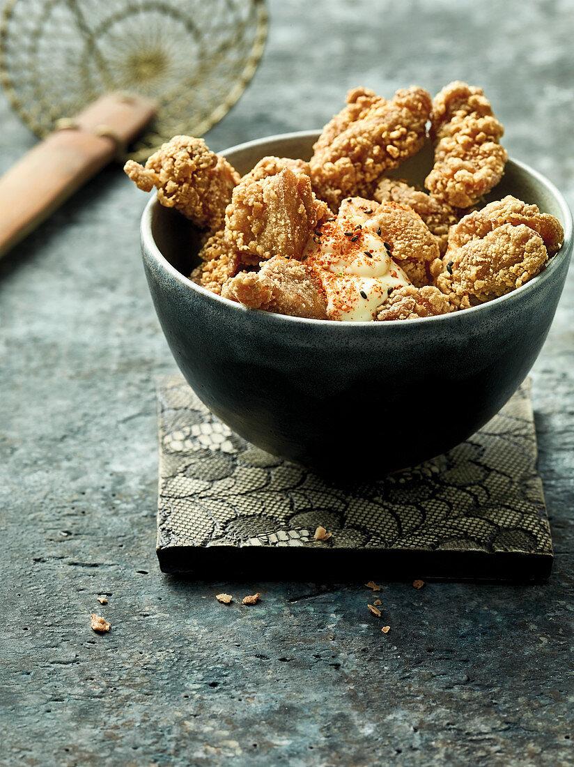 Karaage – fried chicken legs (Japan)