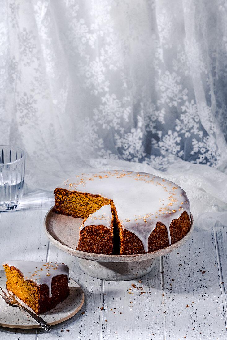 Mandarin cake gluten-free