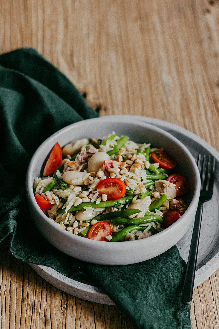 Orzo Salad with Tuna