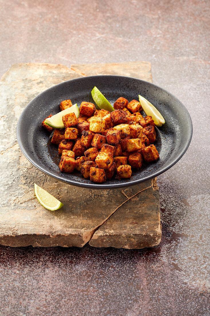 Fried paneer (India)