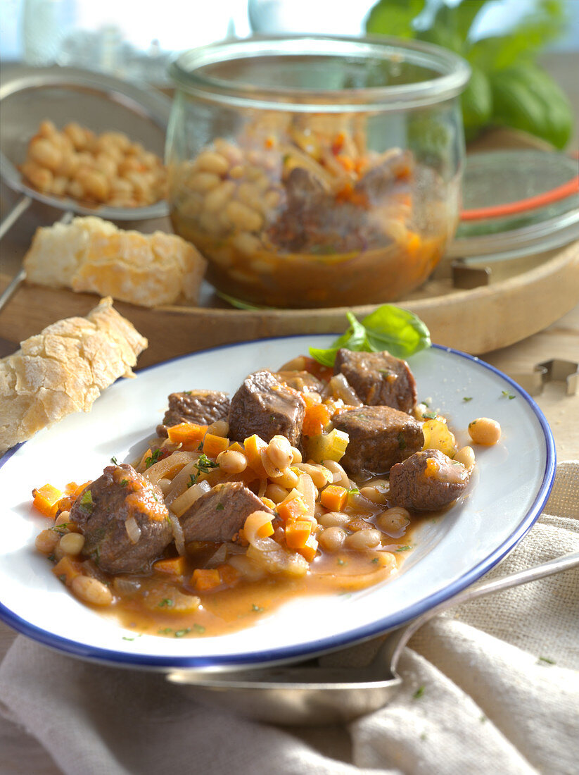 Beef goulash from Tuscany