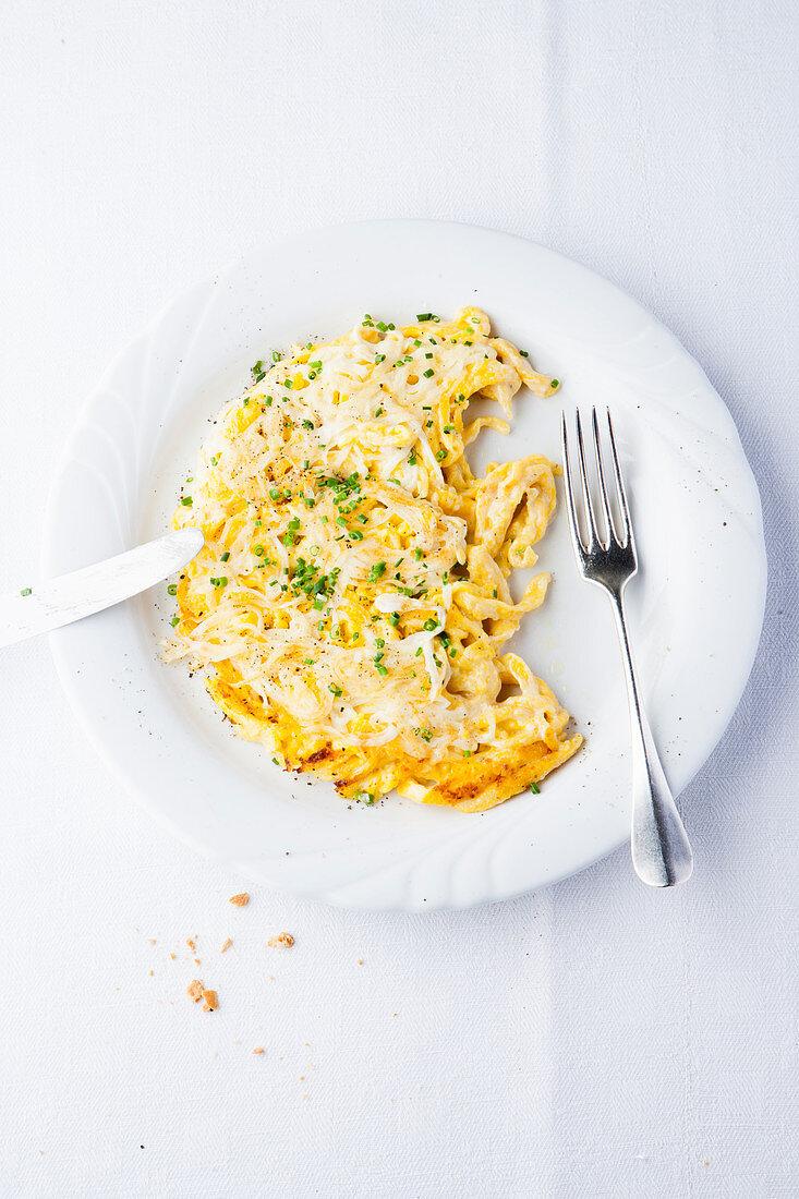 Baden cheese spaetzle
