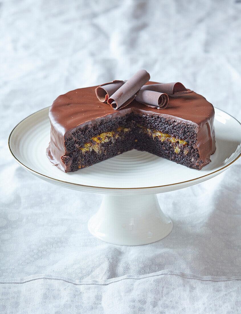 Sachertorte (Sacher cake)