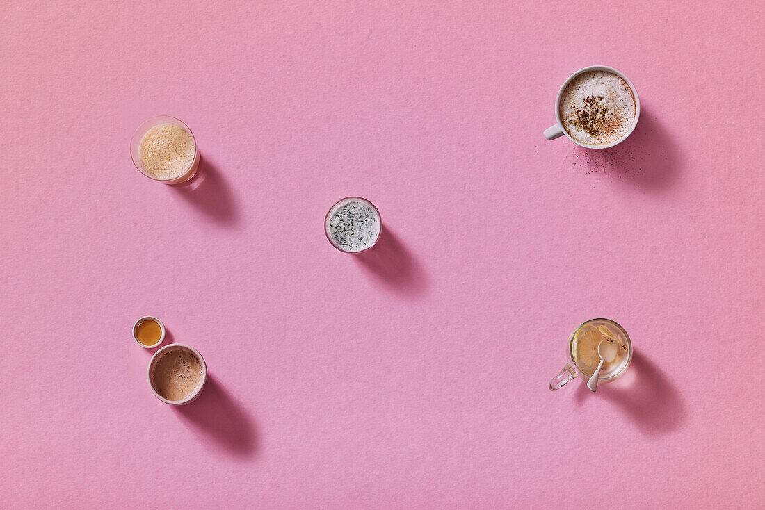 Morning drinks for an anti-stress breakfast