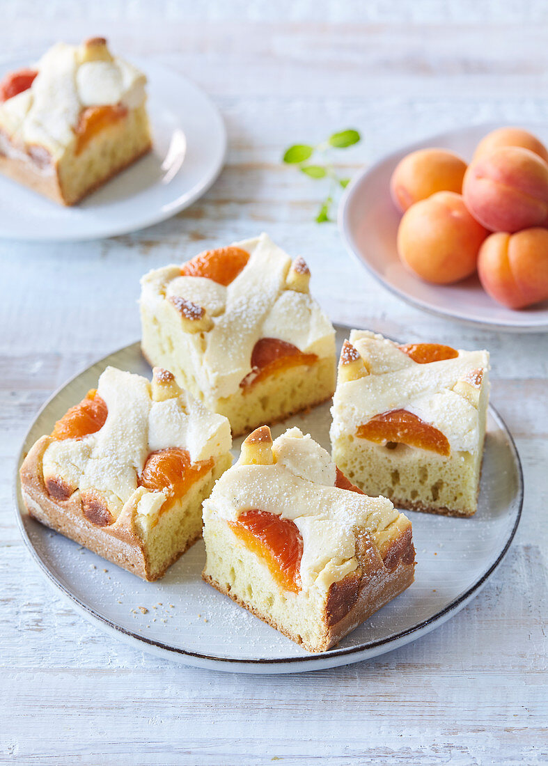 Apricot and Quark Lattice Cake