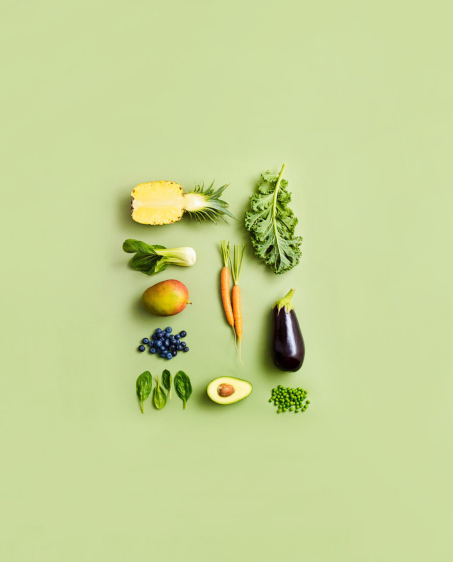 The Top Ten fruits and vegetables for a vegan diet