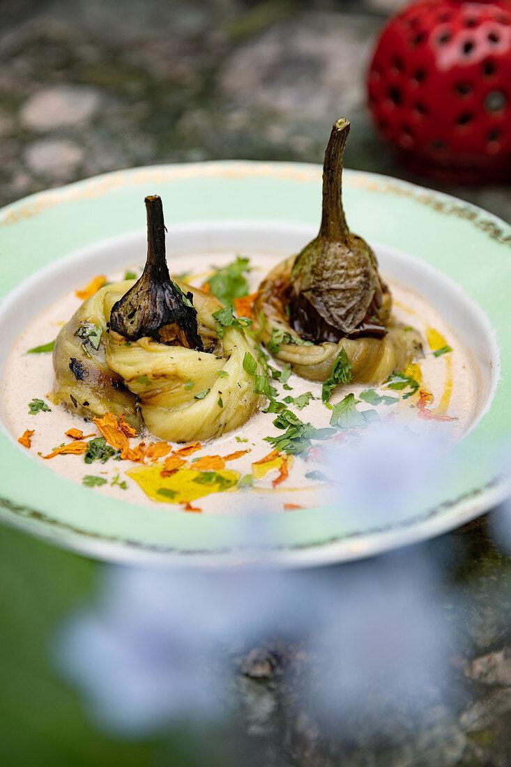 An aubergine dish (Georgia)