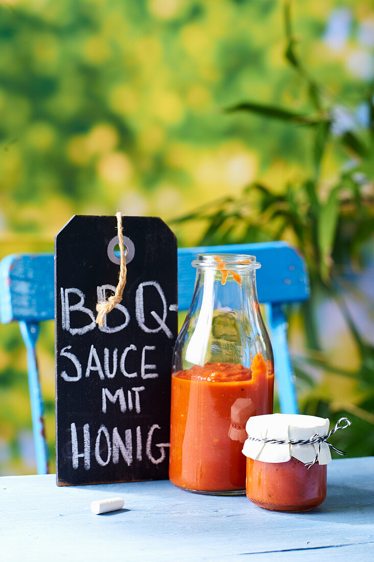 BBQ sauce with honey