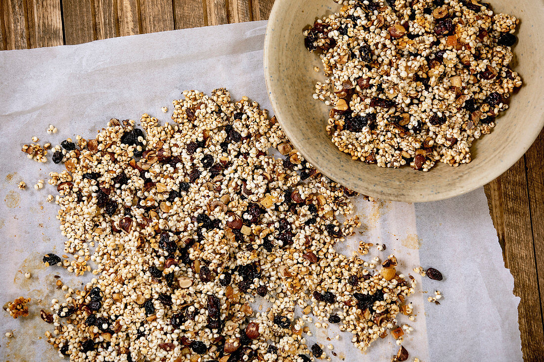 Homemade Crunchy Puffed Millet Grain License Images 13252592 Stockfood