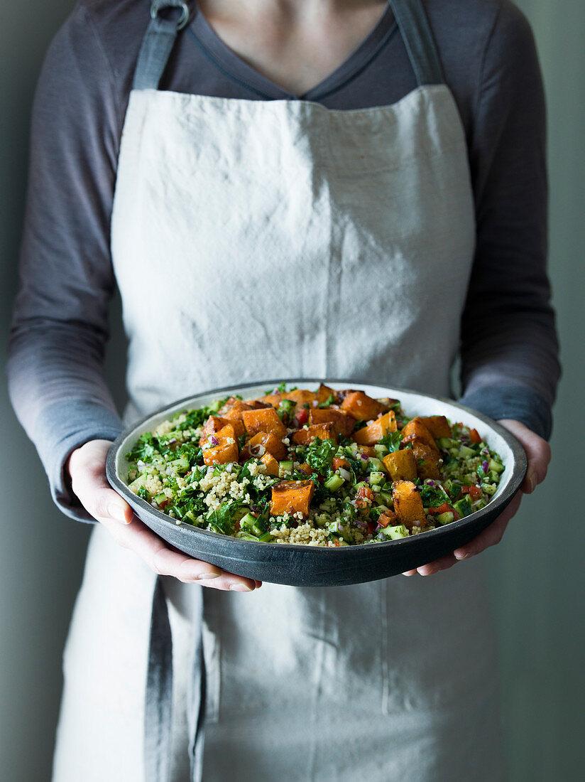 Kale & Quinoa Tabbouleh