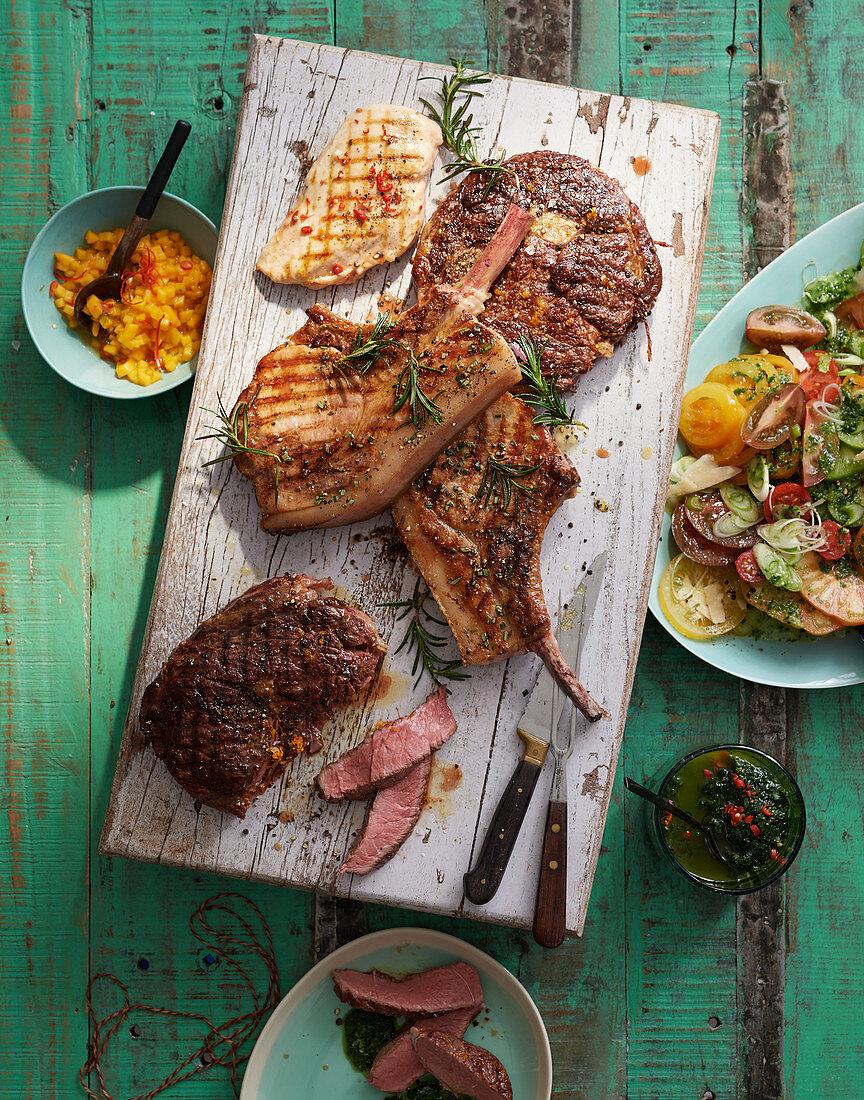 Grilled Argentinian steak