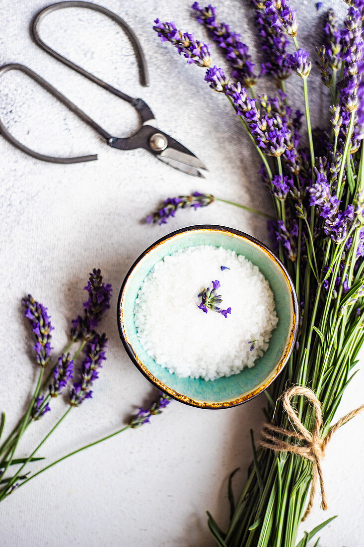 Meersalz und Lavendel
