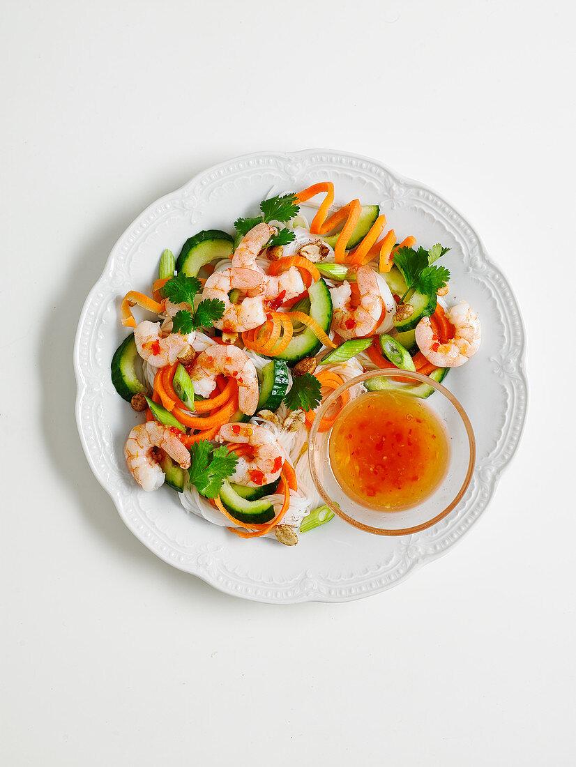 Prawn Pad Thai salad