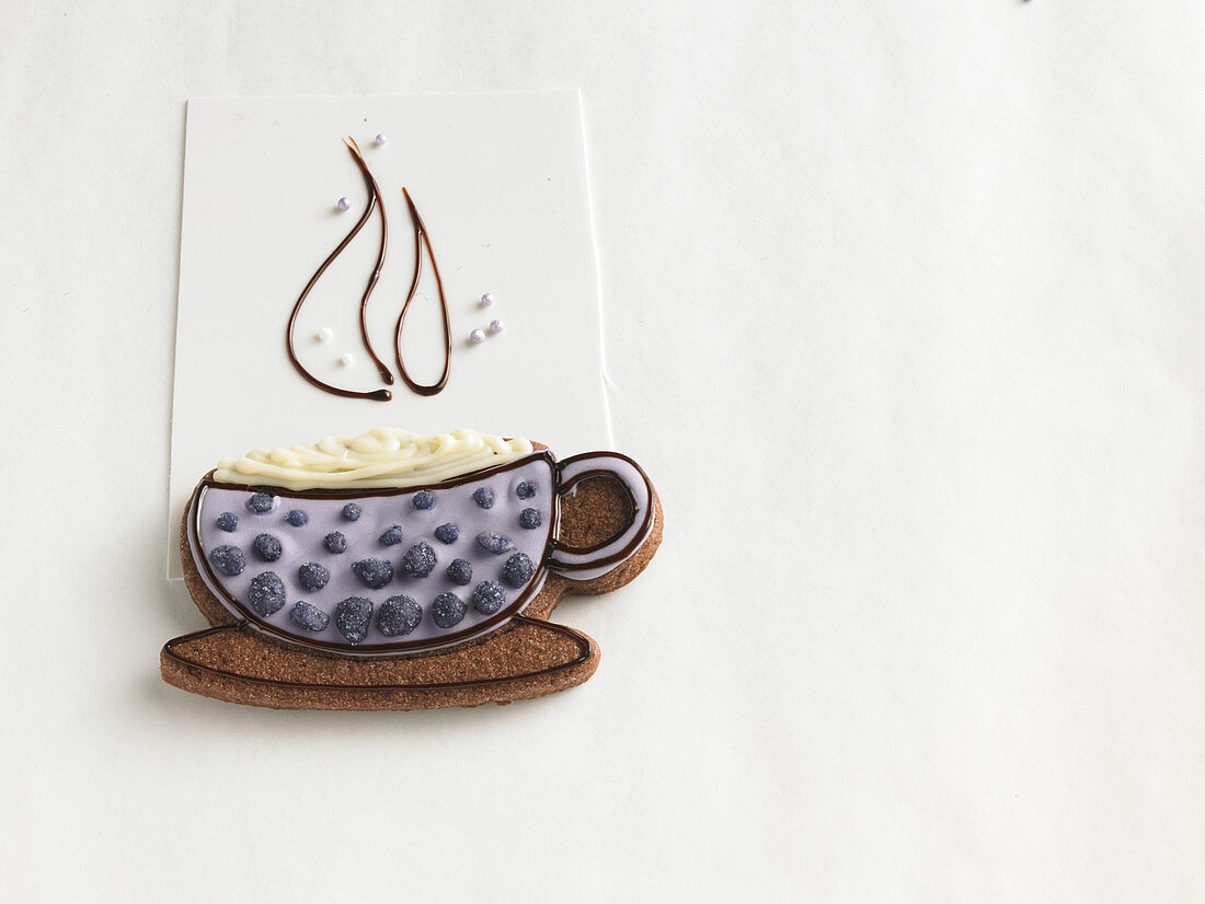 A teacup biscuit