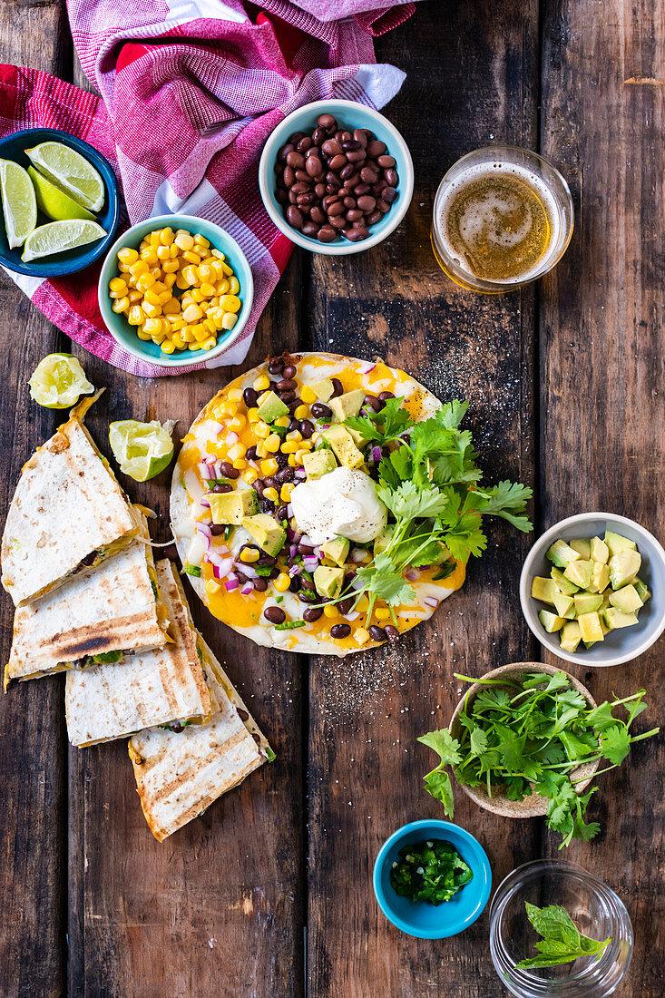 Veggie enchilada (Mexico)
