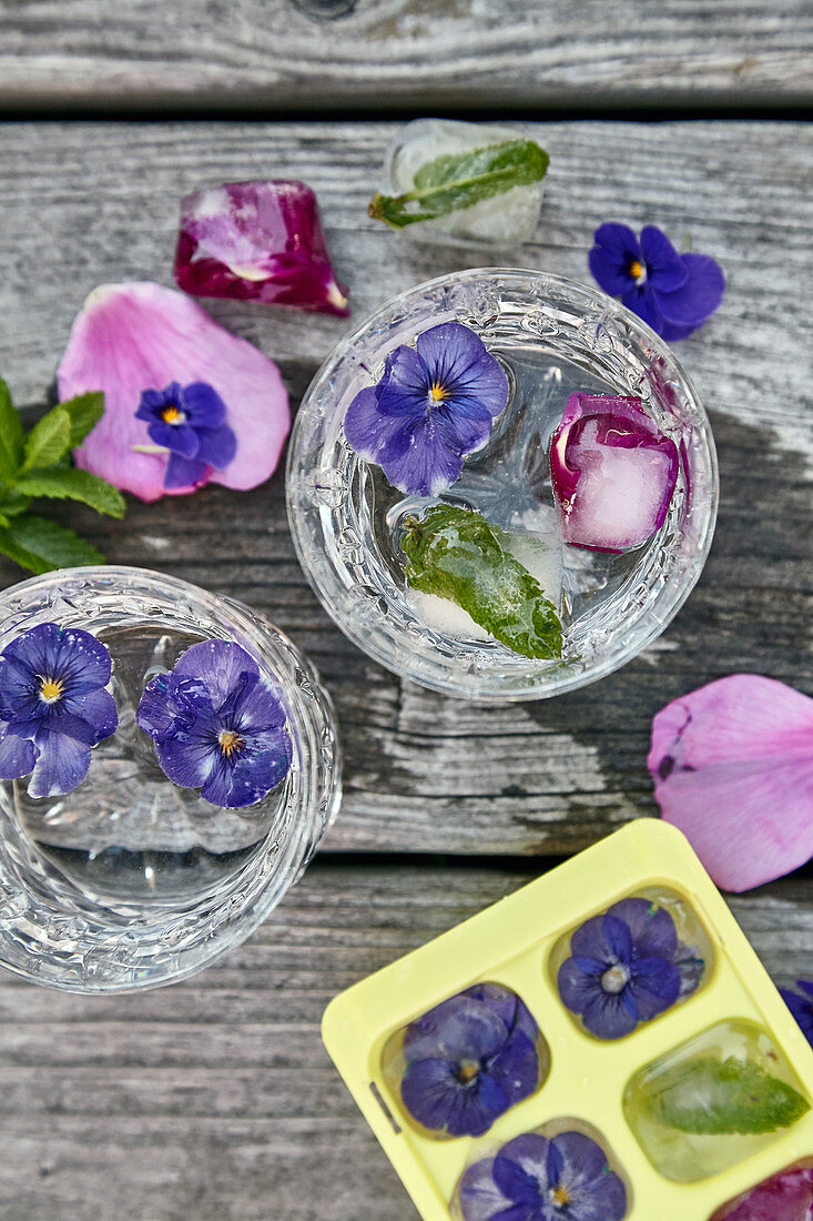 Blossom-flavored Water