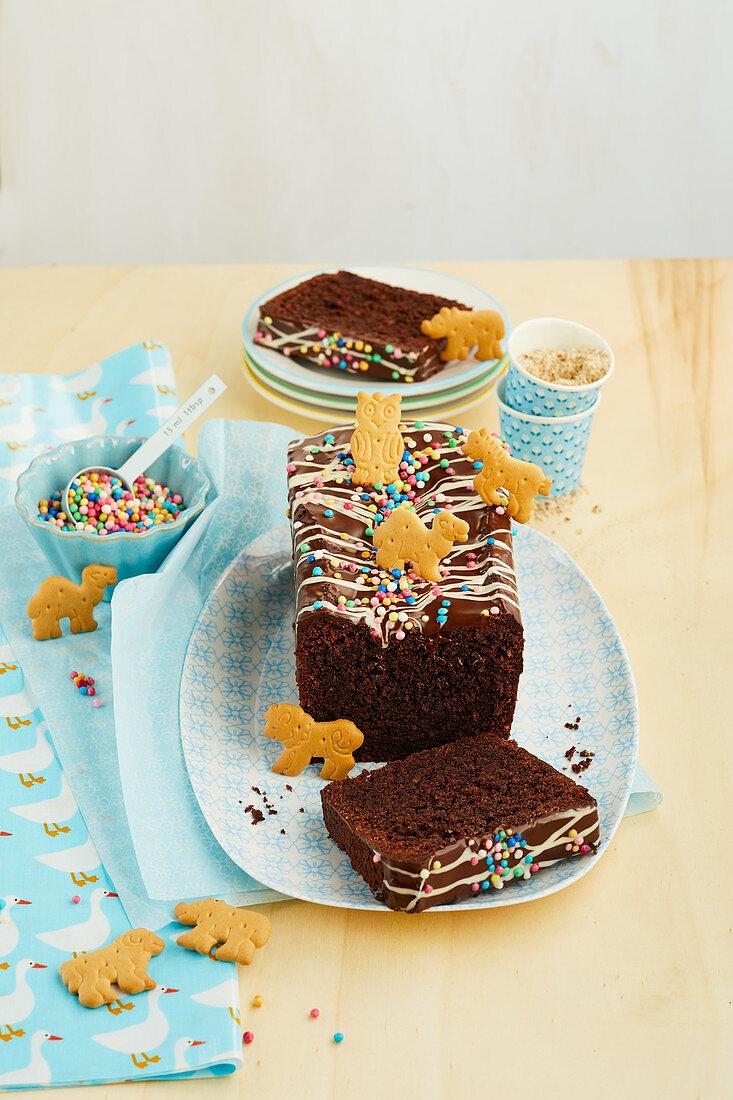 Chocolate cup cake 'Safari'