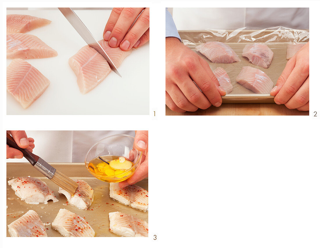 How to cook a char fillet in a oven