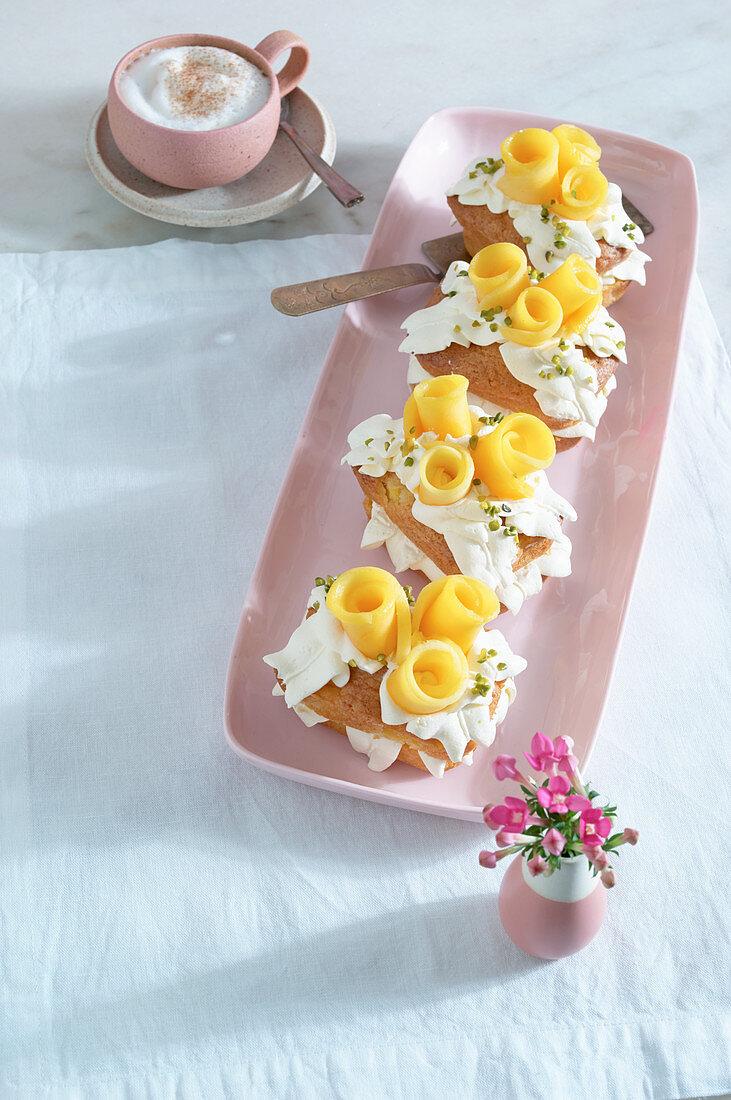 Mango-Küchlein zu Ostern