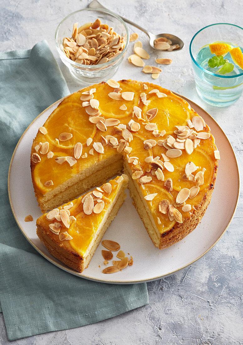 Reverse orange cake
