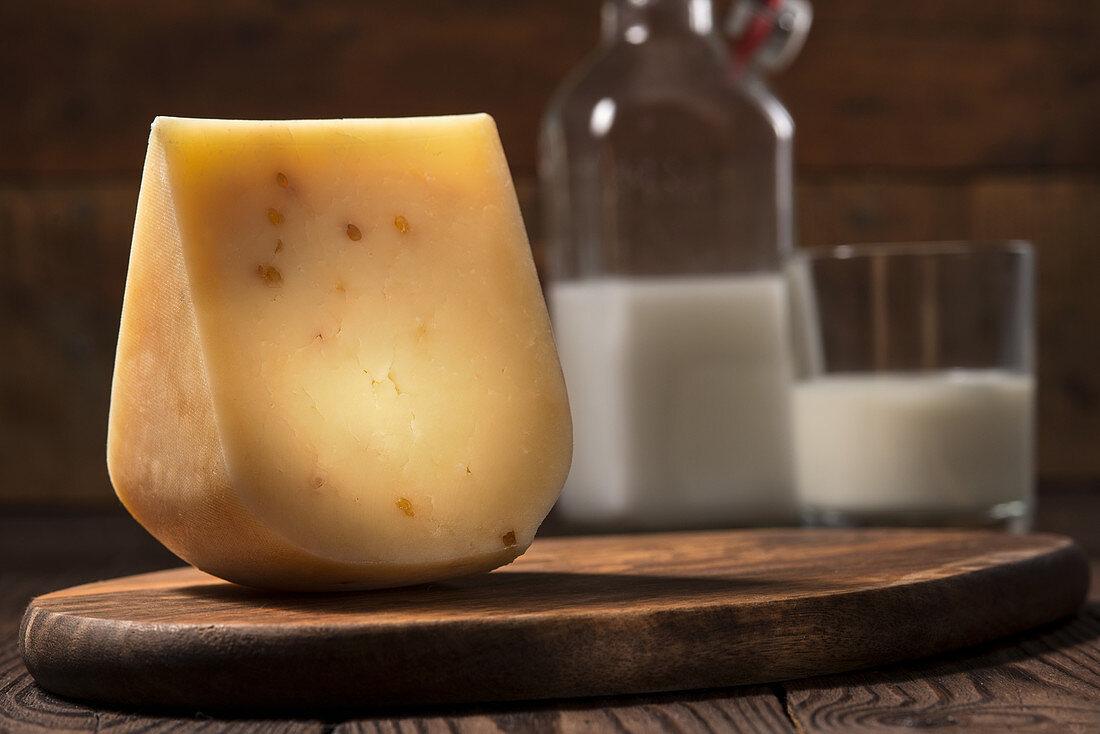 Fenugreek cheese