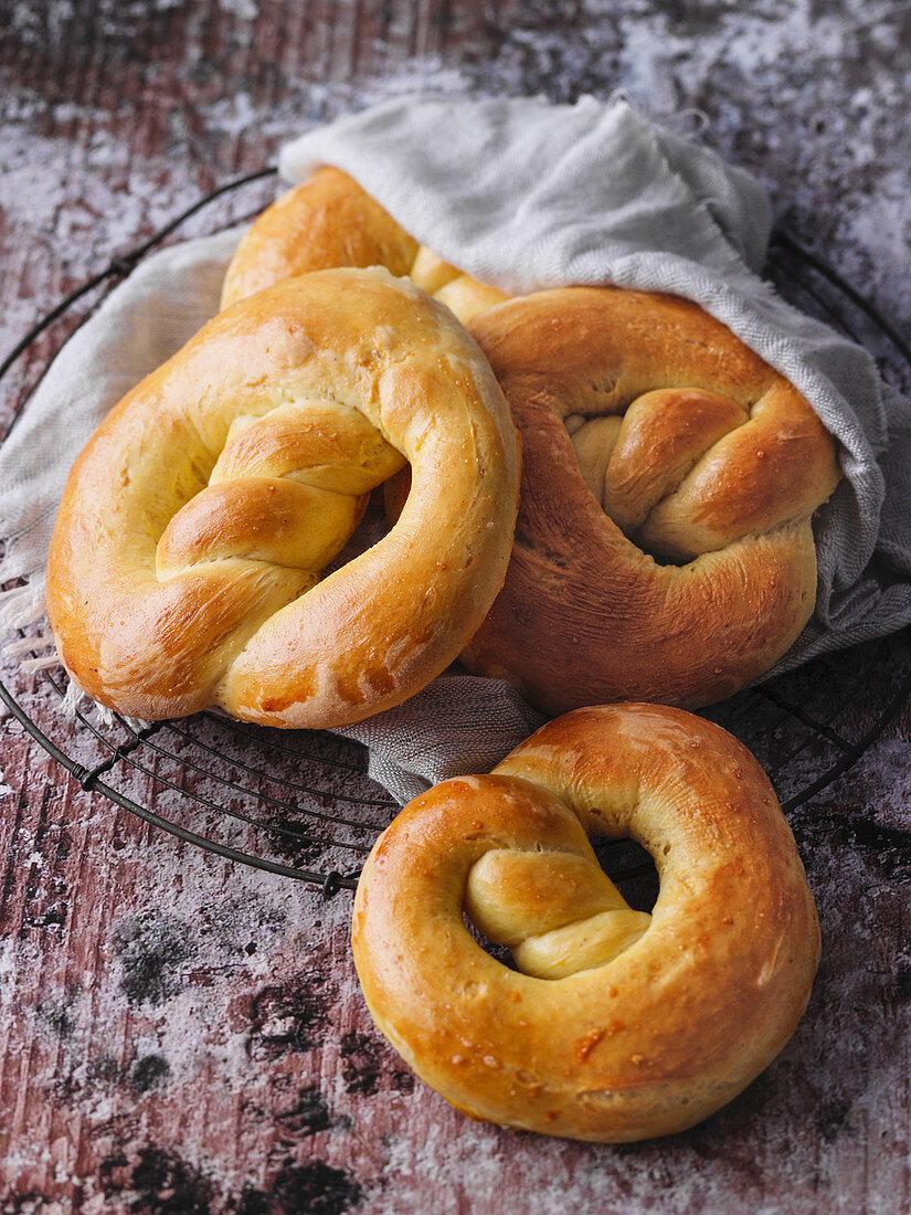 Sebastianus pretzels - a sweet present for January 20th in Aachen