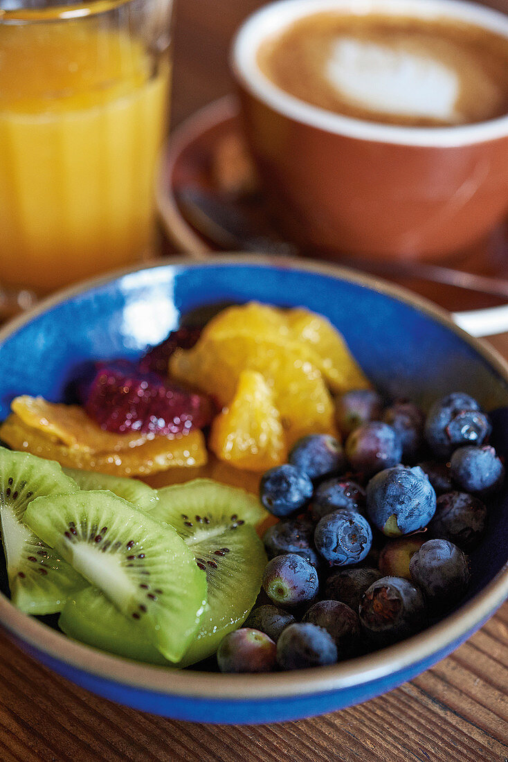 Vitamin-rich fruit salad