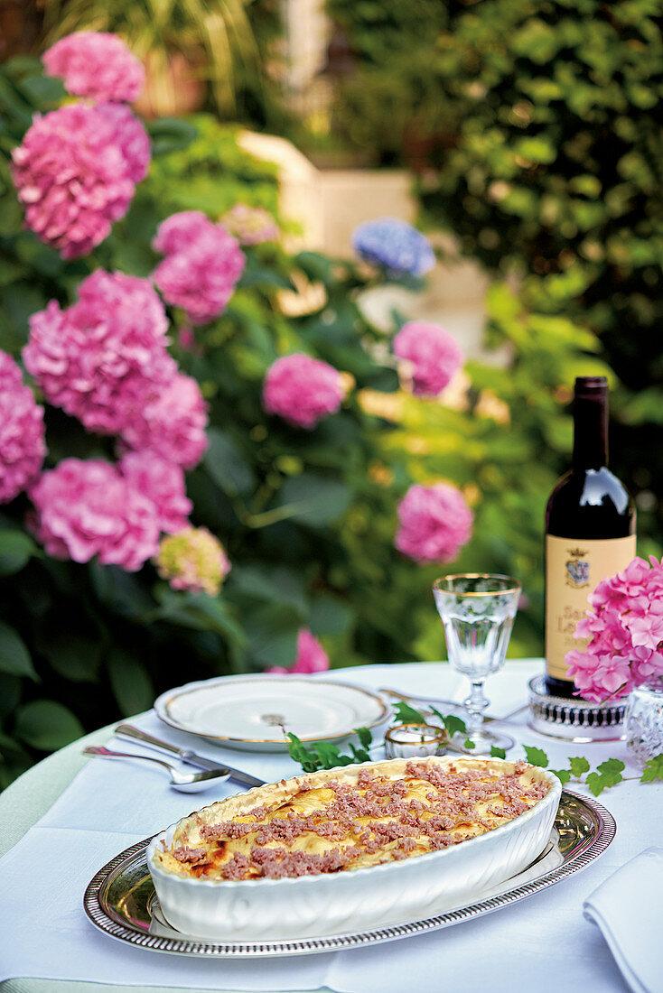 Gnocchi alla parigina (Parmesan gnocchi, Italy)