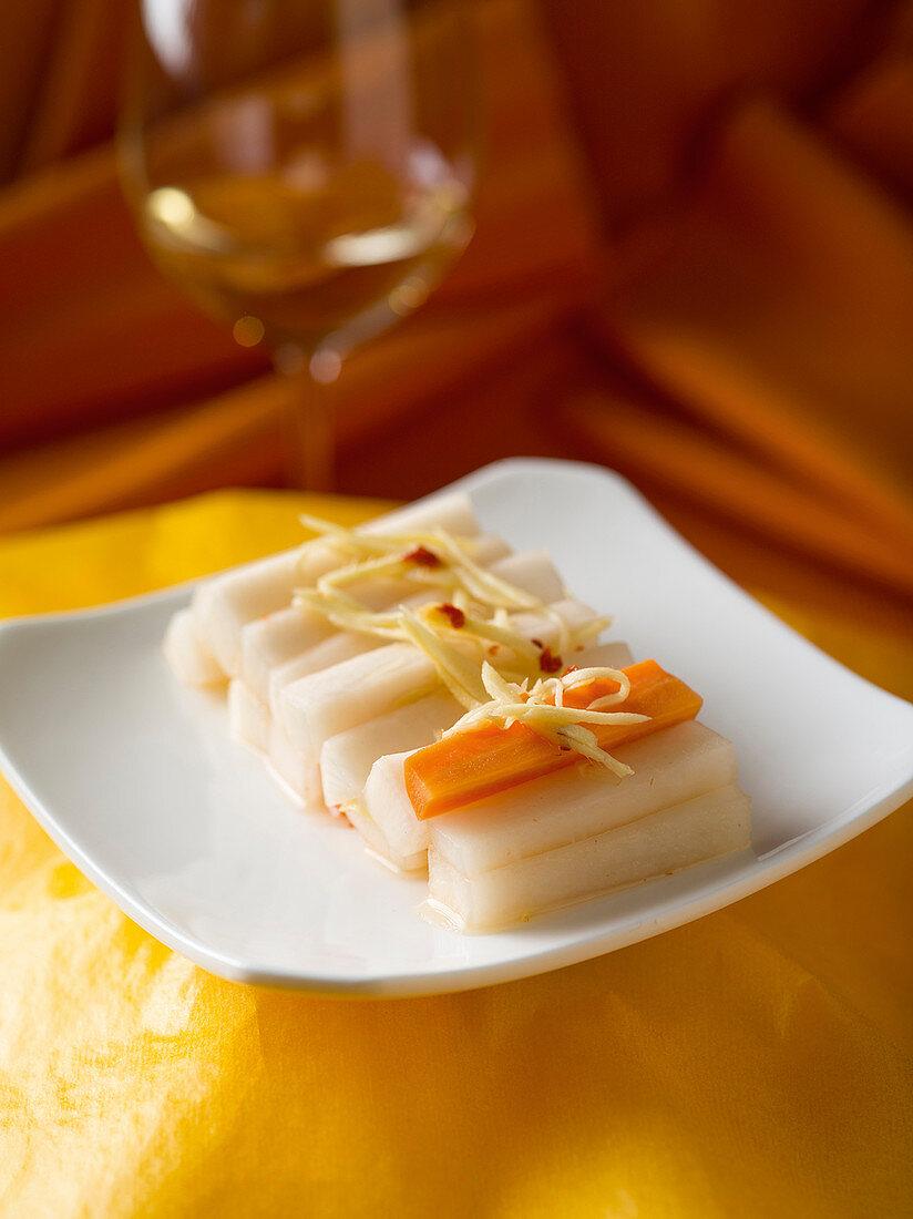 Chinese pickled radish