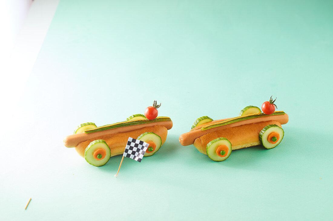 Hot dog cars