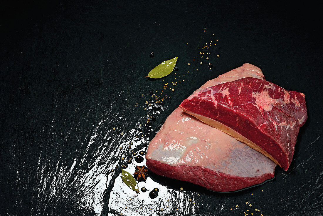 Tafelspitz (a cut of beef from the rump)