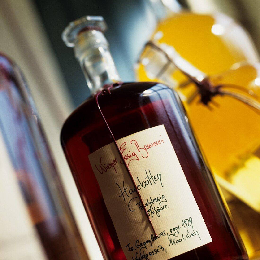 Red Wine Vinegar in a Bottle
