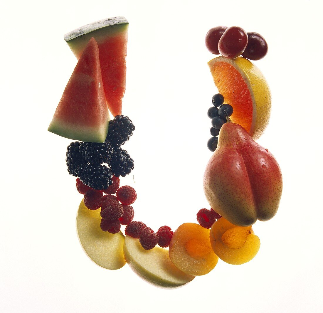 Fruit Forming the Letter U
