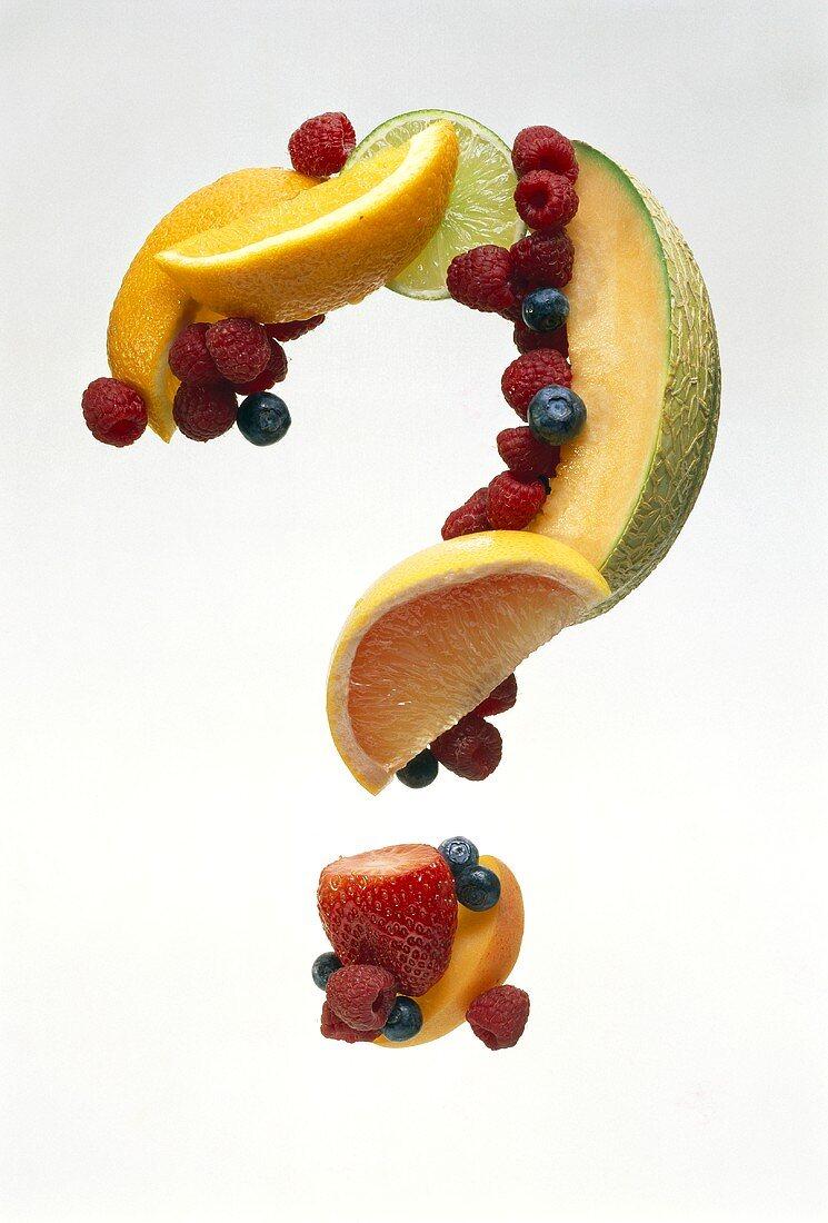Fruit Punctuation; A Question Mark