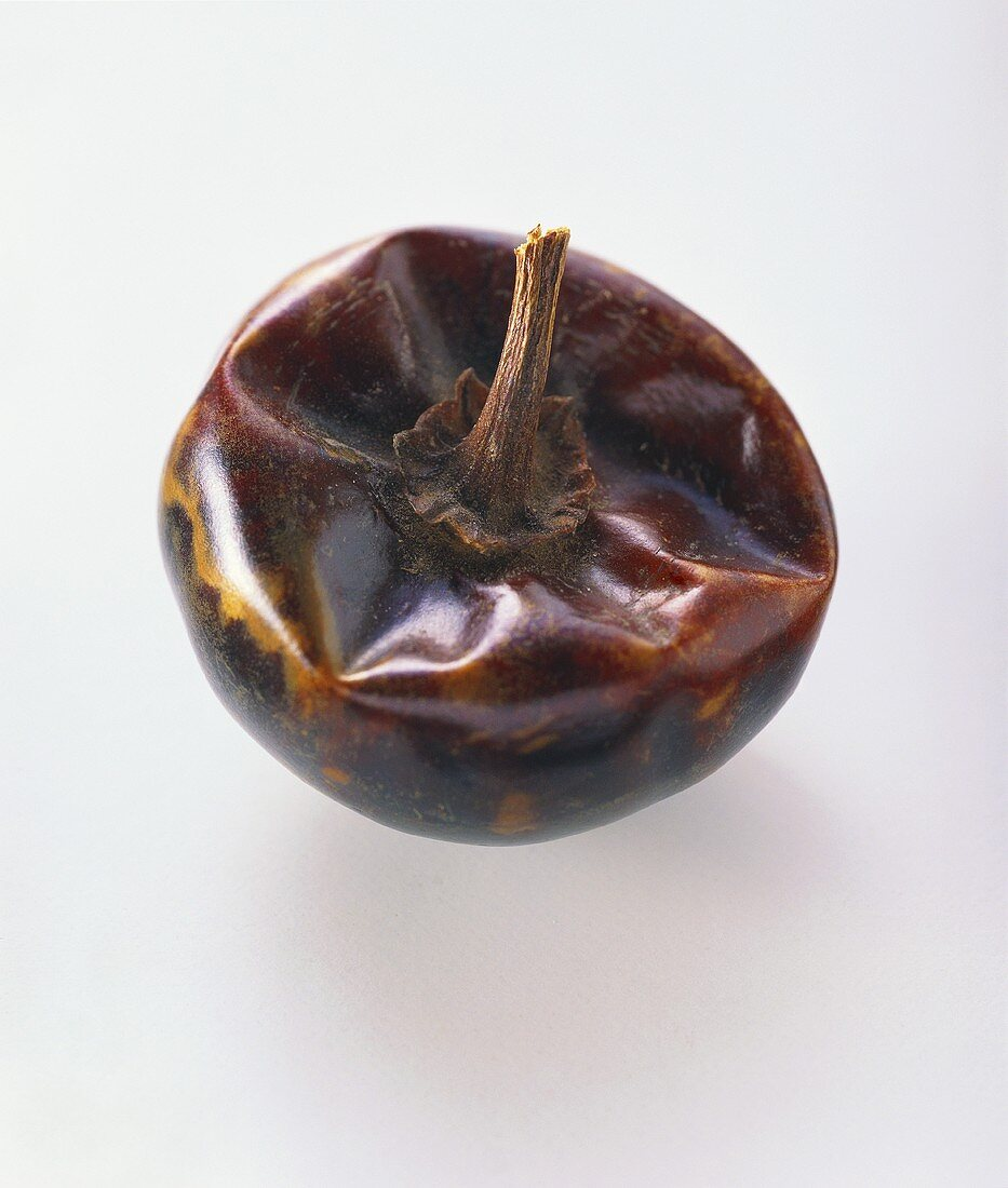Dried chili pepper, variety: Chile cascabel
