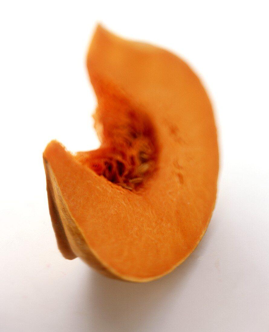 A piece of Japanese pumpkin