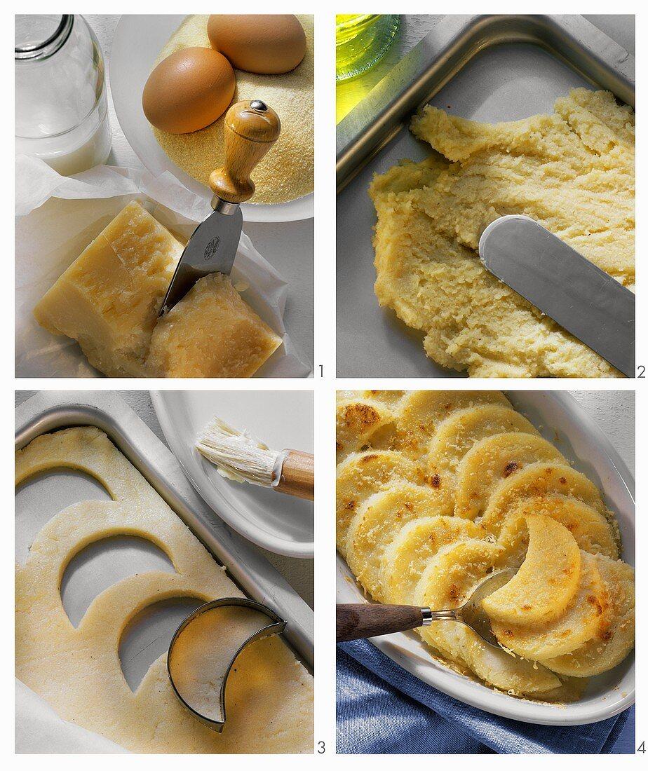 Making Roman style gnocchi