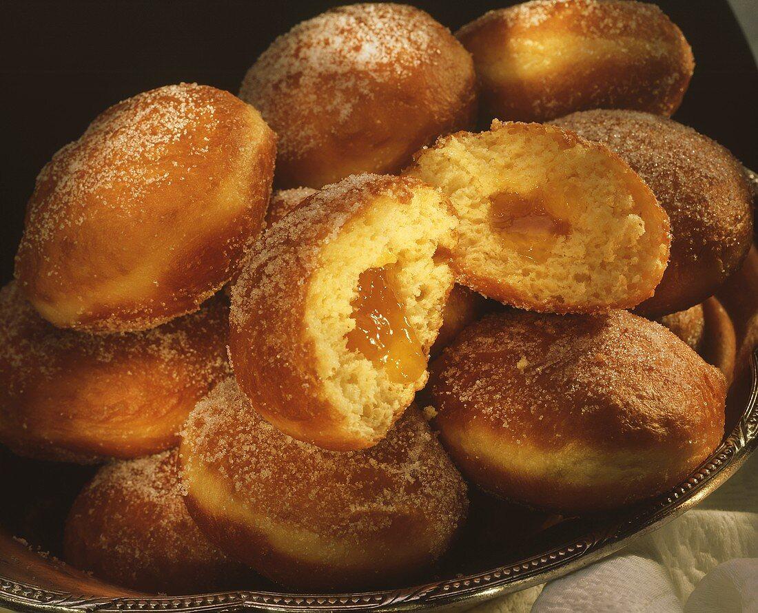 Berlin pancake: jam-filled doughnut