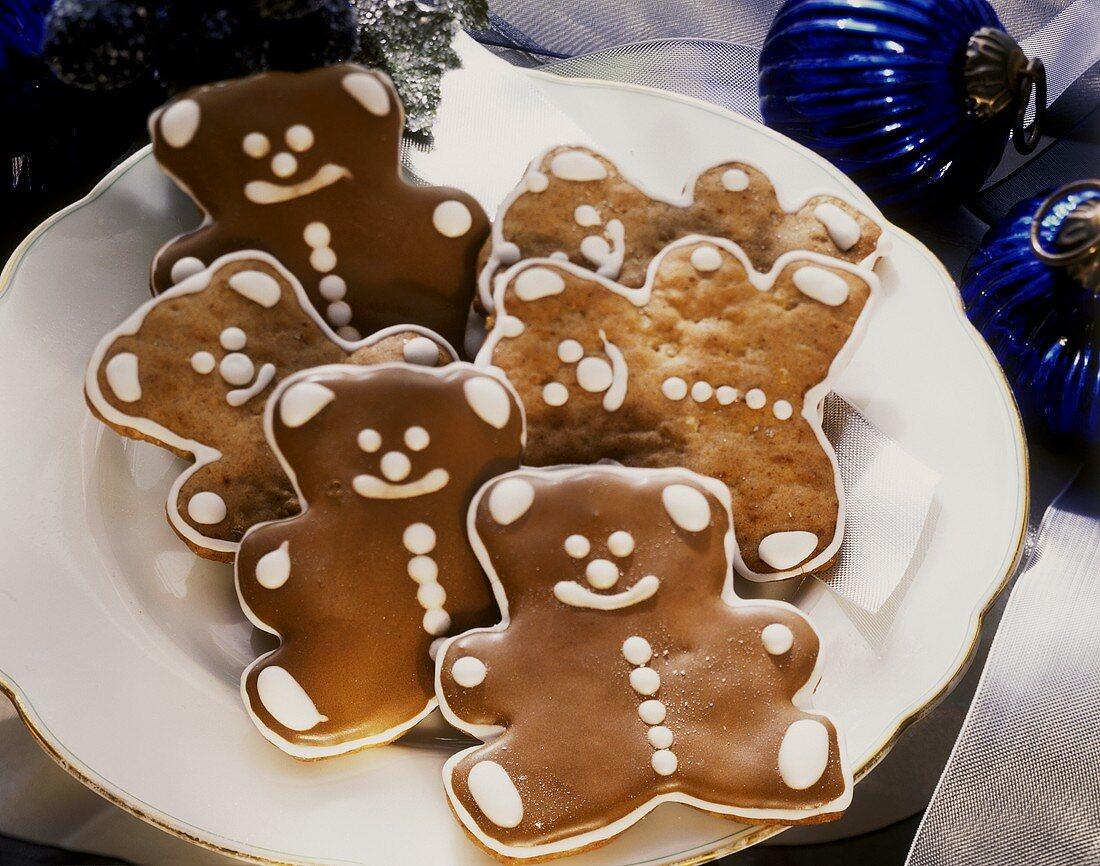 Teddy Bear Sugar Cookies