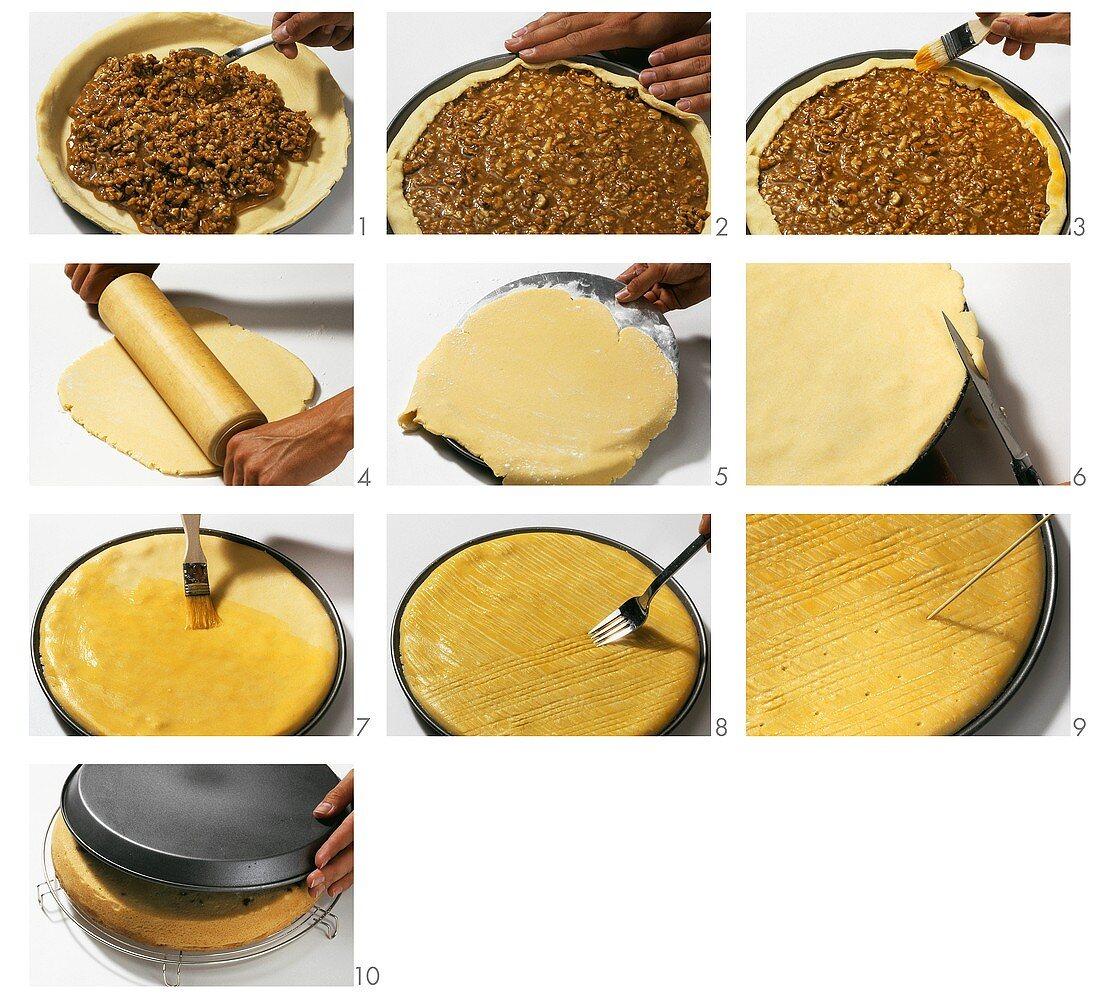 Making Engadine nut cake (part 2)