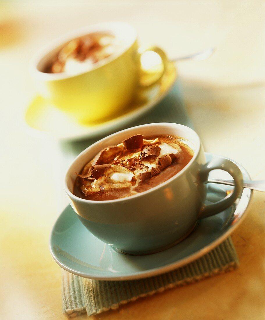 Café Chocolat (coffee with chocolate & Crème de cacao)