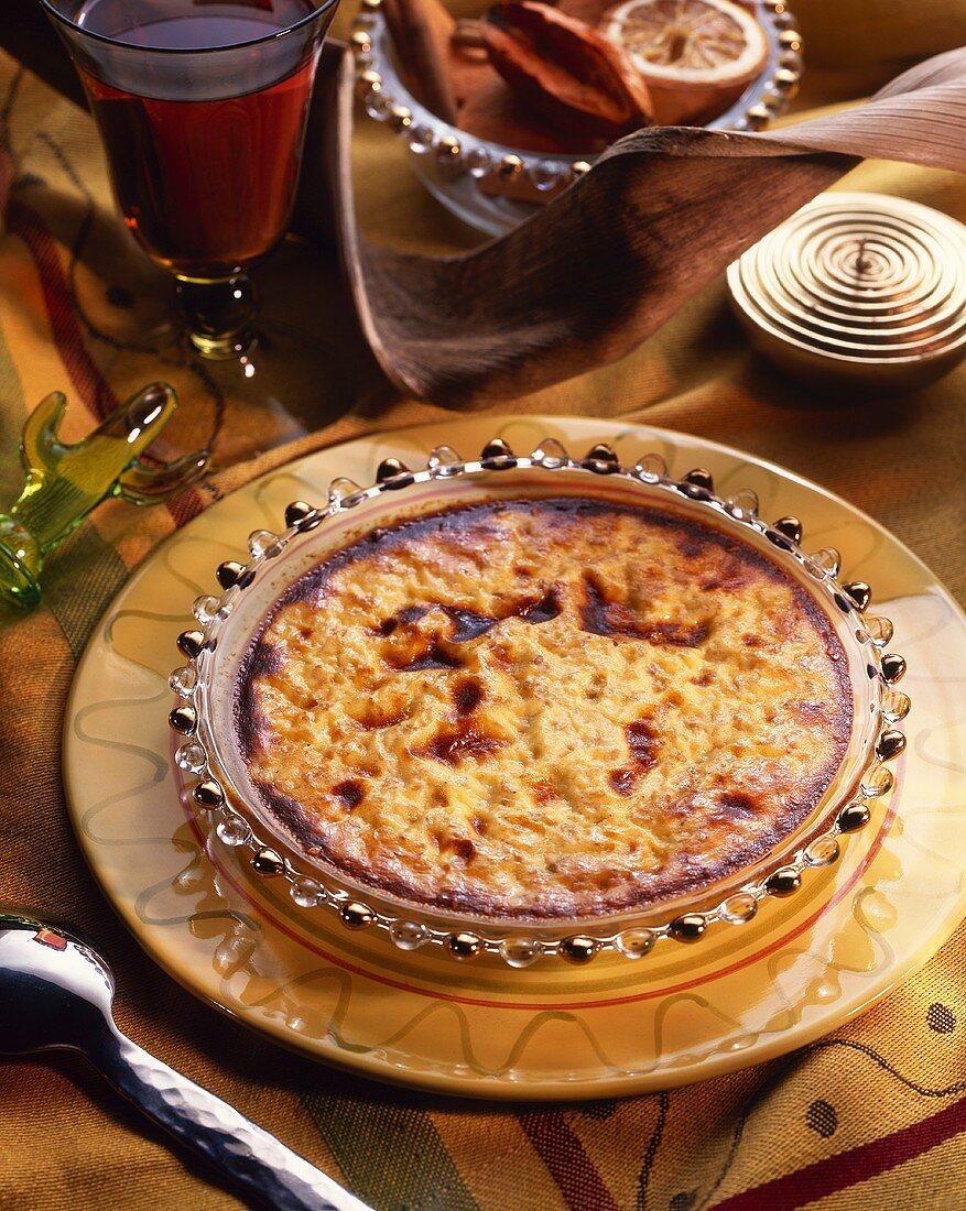 Natillas (or Dulce de leche): milk pudding from Latin America