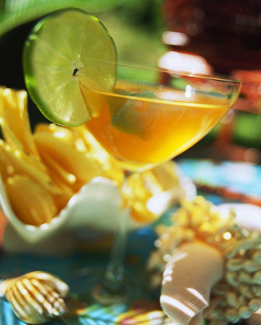 Drink from Bermuda: Rum Swizzle