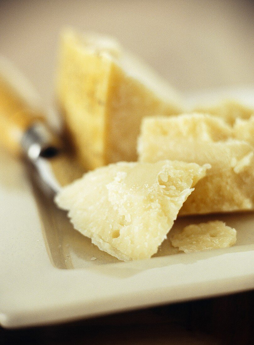 Pieces of Parmesan