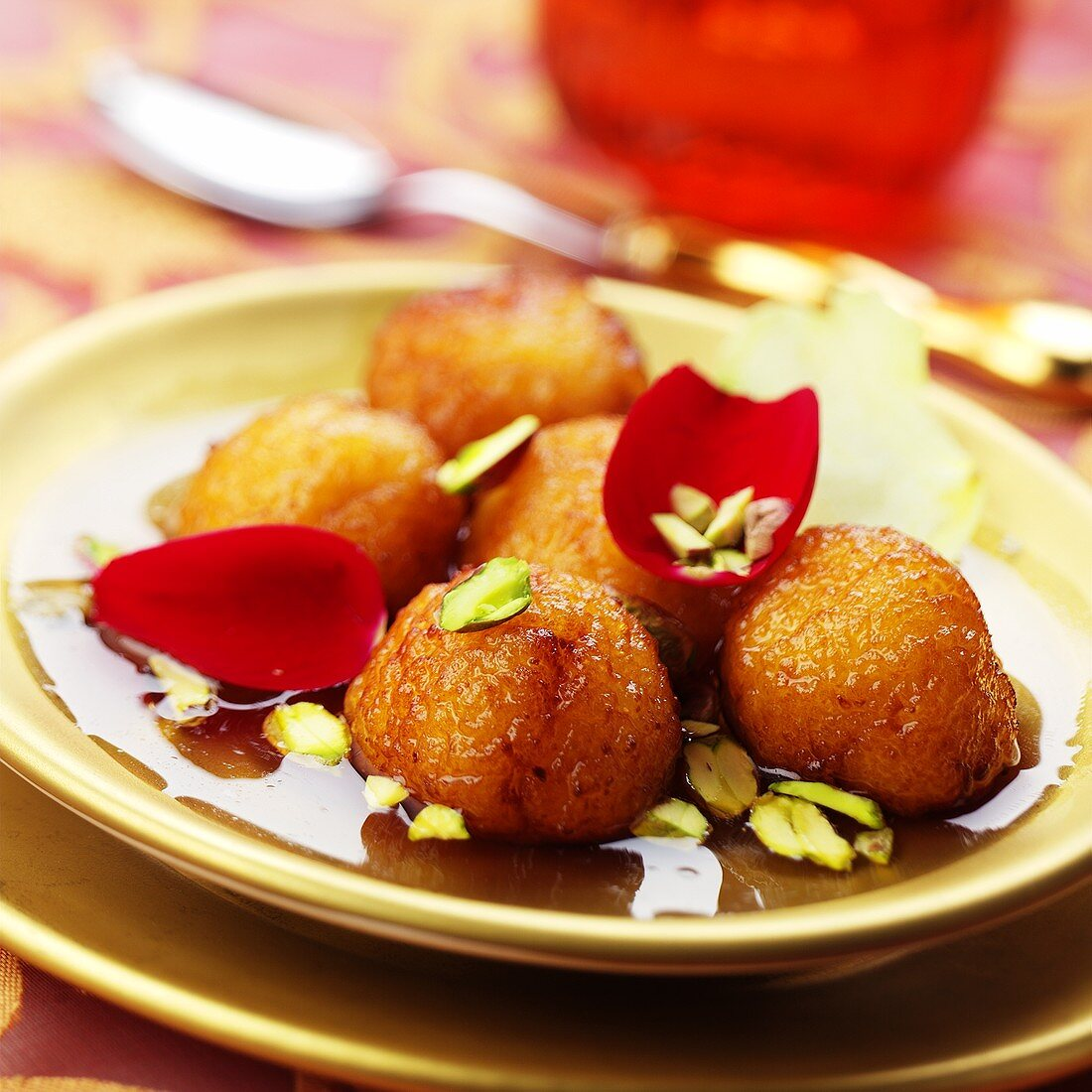 Gulab Jamuns (Indian sweetmeats in syrup)