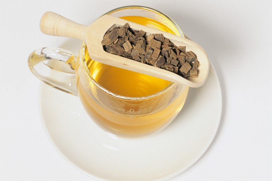 Guaiac tea (Lignum guajaci)
