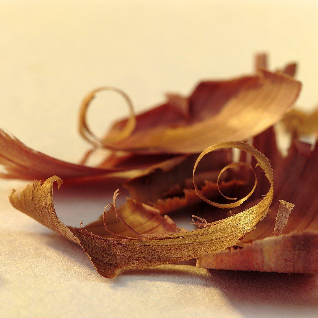 Cedar wood shavings