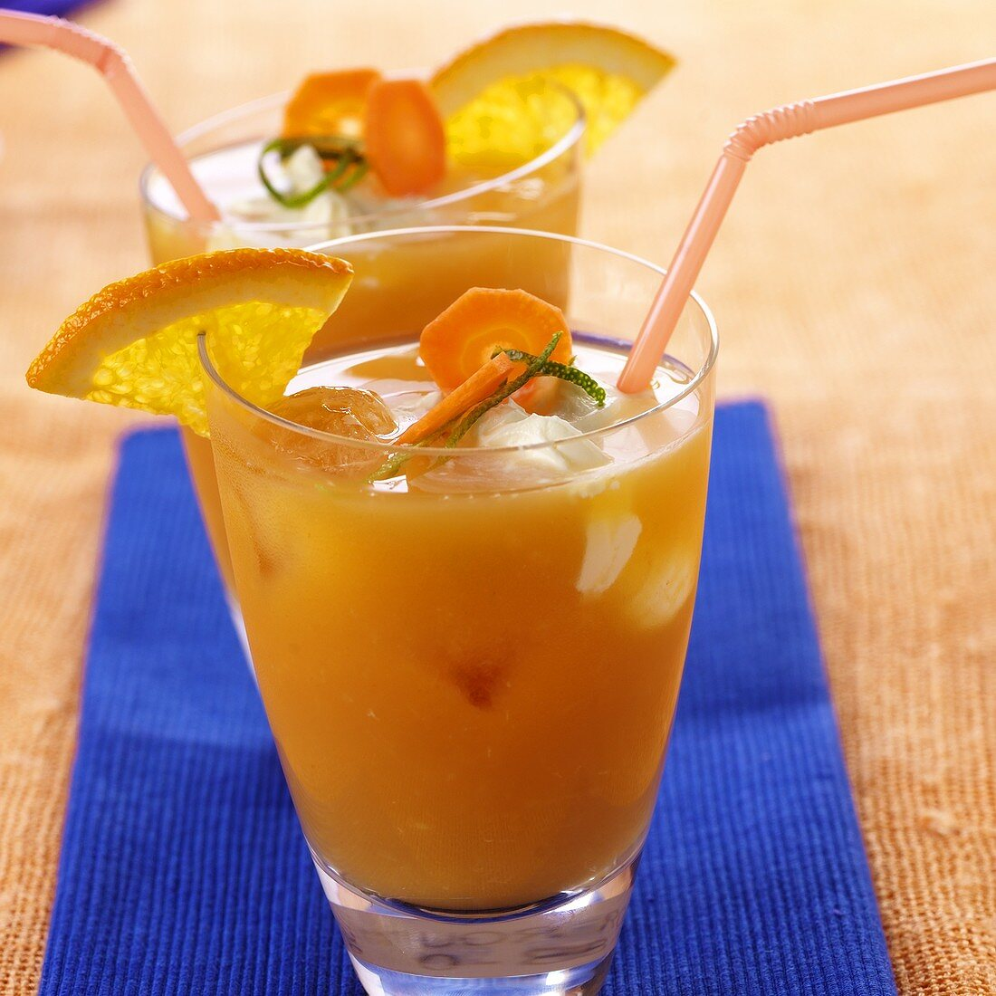 Carrot and orange drink