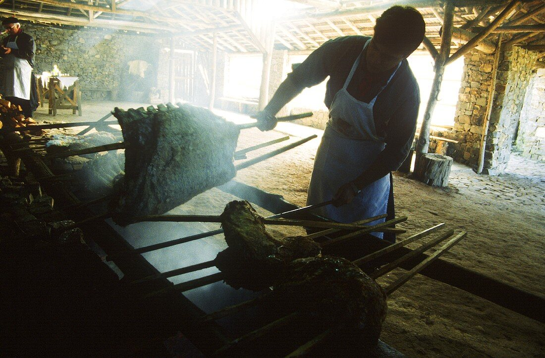 At Gaucho Churrasco in Brazil, costela (prime rib)