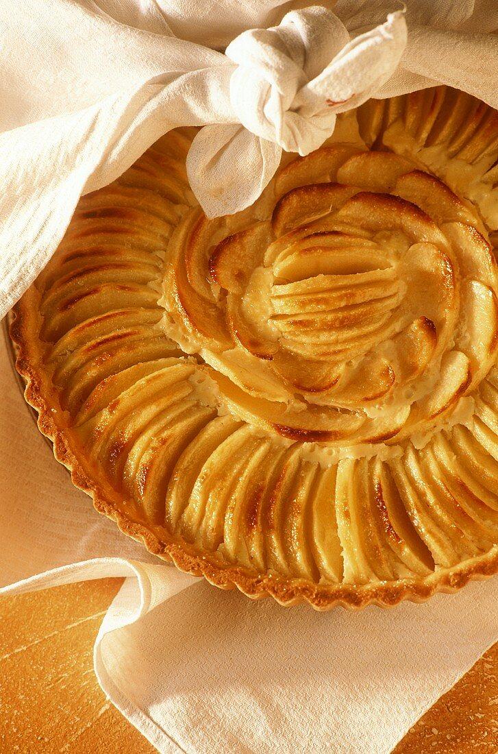 Tarte aux pommes (French apple tart)
